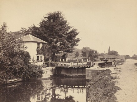 Lock-Keeper's Cottage and Lock Gates