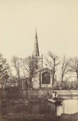 Church from a River Bank