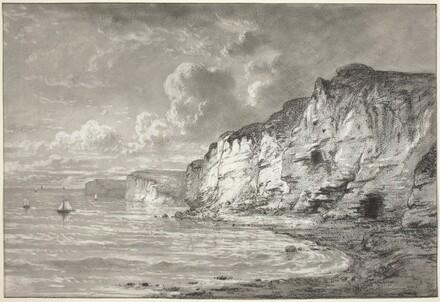 Cliffs along the Normandy Coast