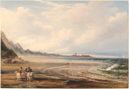 Travelers on the Sands near Redcar