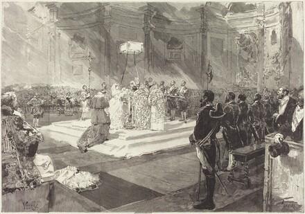 Baptême royal à la Cour d'Espagne