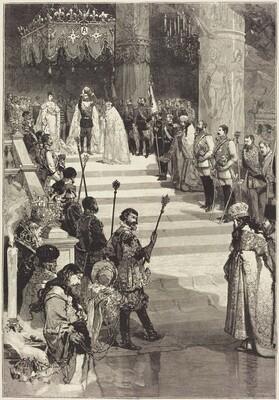 Le Couronnement de l'Empereur Alexandre III de Russie (27 Mai)