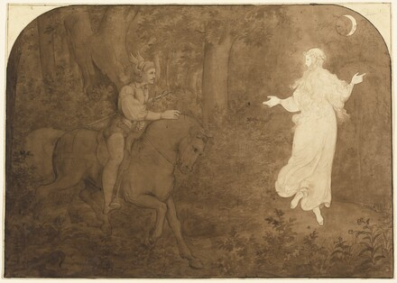 The Apparition in the Forest