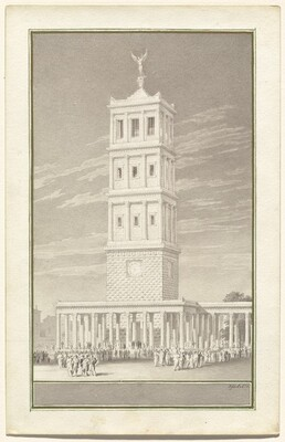 Campanile of a Cathedral for Berlin