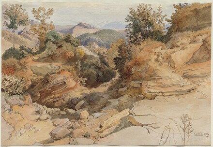 The Sabine Hills and Rocca Santo Stefano, Seen from Civitella