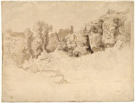 Rock Formations near Olevano