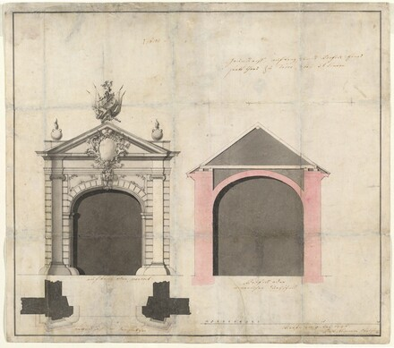 Design for a City Gate in Trier