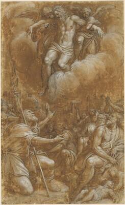 Saint Roch Interceding on Behalf of Plague Victims