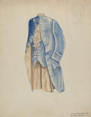 Man's Coat & Waistcoat