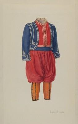 Child's Soldier Suit