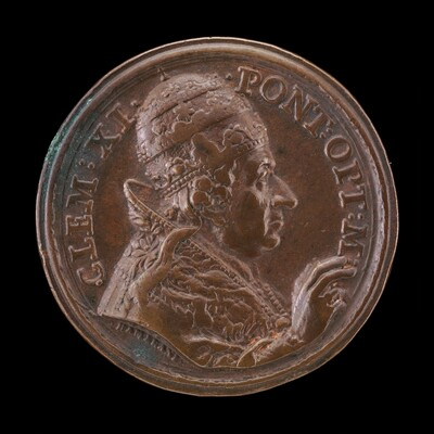 Clement XI (Giovanni Francesco Albani, 1649-1721), Pope 1700 [obverse]