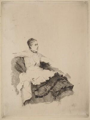 Portrait of Madame de Nittis (Attenzione)
