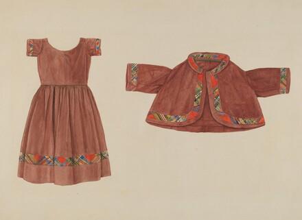 Child's Dress and Jacket
