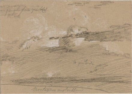 Study of Clouds above the Mountains