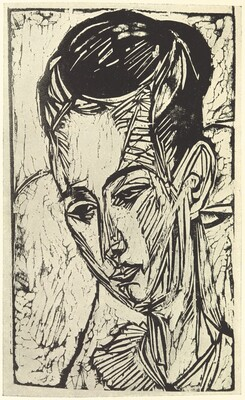 Die Graphik Ernst Ludwig Kirchners bis 1924, von Gustav Schiefler Band I bis 1916  (The Graphic Art of Ernst Ludwig Kirchner to 1924 by Gustav Schiefler Volume 1 to 1916)