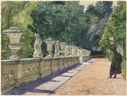 A Promenade in the Park at Sanssouci