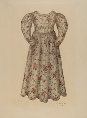 Girl's Chintz Dress