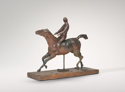 Horse Galloping, Turning the Head to the Right, the Feet Not Touching the Ground