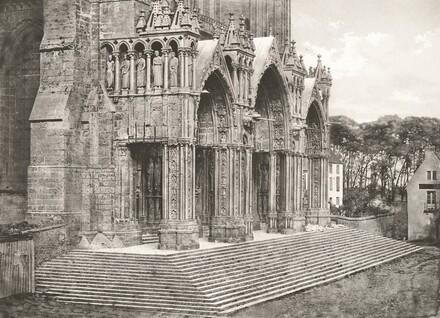 Cathédrale de Chartres - Portique du Midi XIIe Siècle