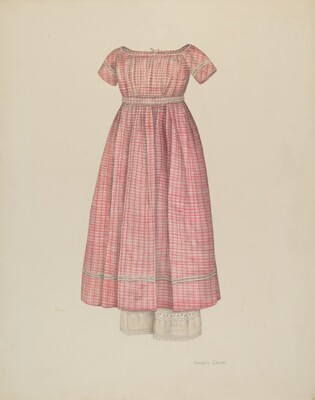 Girl's Dress with Pantaloons