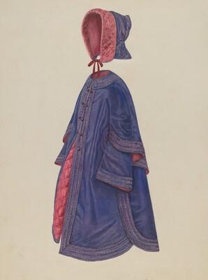 Child's Coat & Bonnet