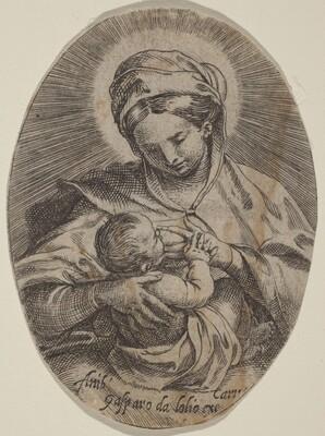 The Madonna Nursing the Christ Child