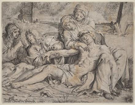 Pieta (the Christ of Caprarola)