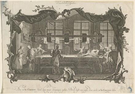 Das Billardspielen (Billiard Players)