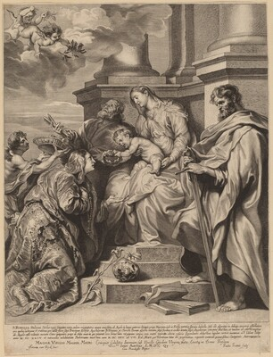 Saint Rosalia Crowned by the Child Jesus