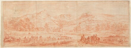 French Troops before Salins and the Surrounding Hills