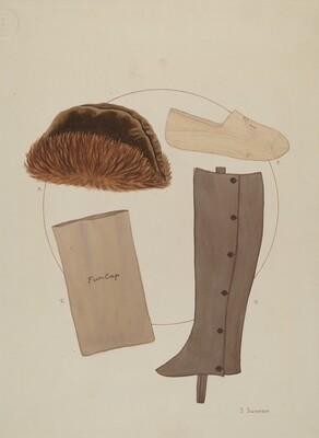 Costume Accessories: Worn by T. Jefferson