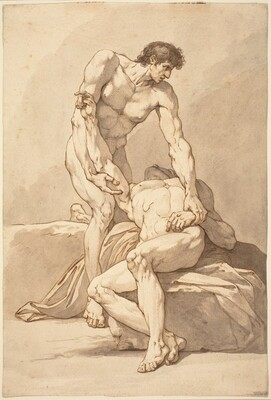 Two Nude Men