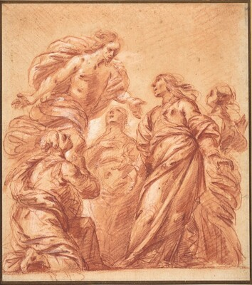 Christ Appearing to the Four Marys