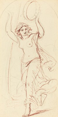 Dancing Woman with a Tambourine