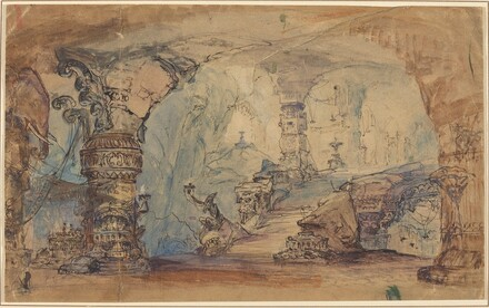 A Fantastic Underground Temple (Aladin's Cave?)