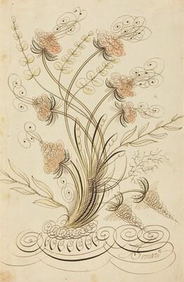 Calligraphic Flowers
