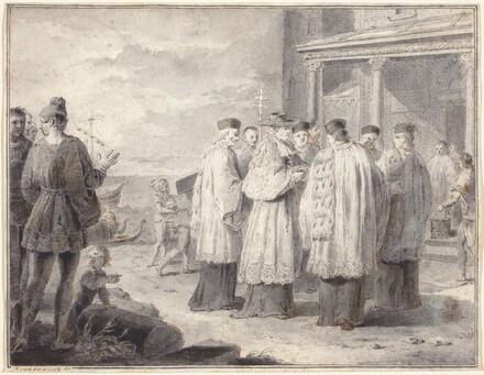 Paulinus, Cardinal and Patriarch of Aquileia, Transfers His Seat to Grado