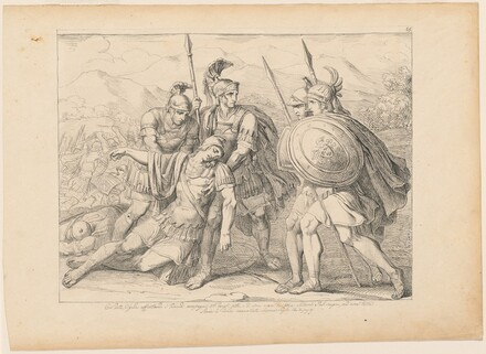The Death of Lausus
