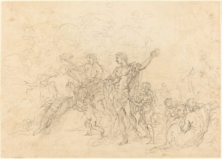 The Marriage of Bacchus and Ariadne