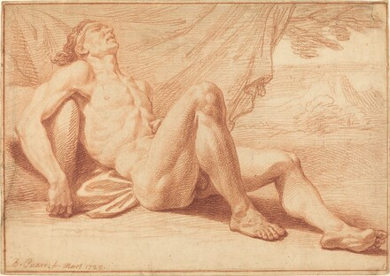 A Reclining Male Nude
