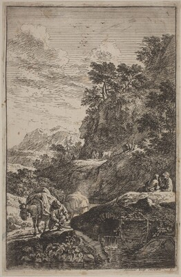 Landscapes in the Manner of Salvator Rosa