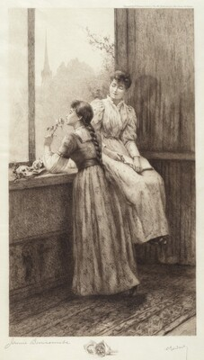 Untitled (Two Girls at a Window)