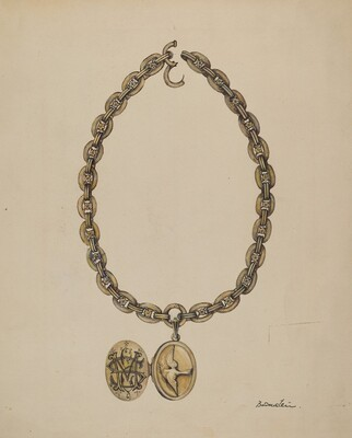Necklace and Locket
