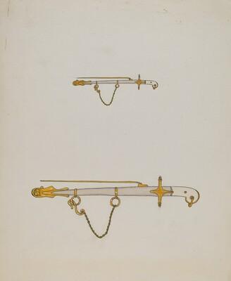 Sword Pin