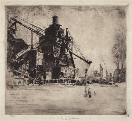Otto Coke and Coal Hoist
