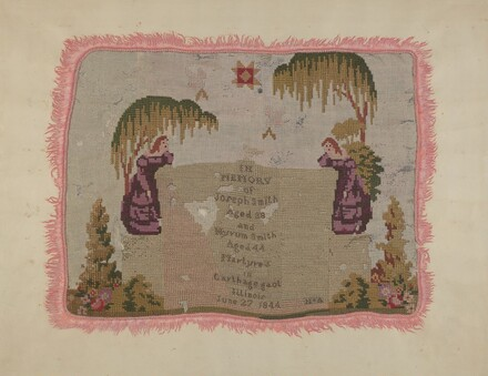 Mourning Embroidery