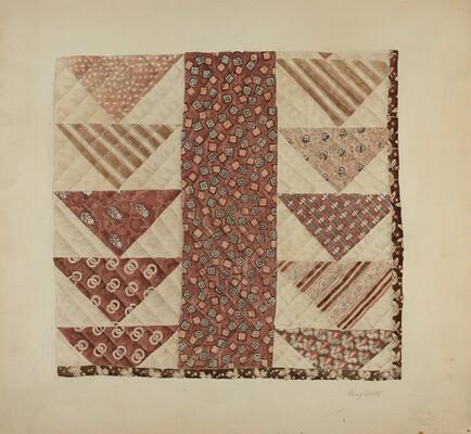 Patchwork Quilt (Section)