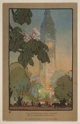 The Metropolitan Tower on A Summer Evening