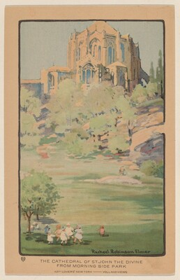 The Cathedral of St. John the Divine from Morningside Park