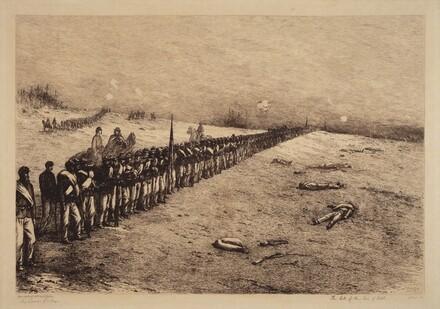 The Halt of the Line of Battle